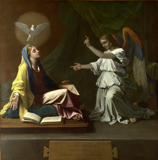 Poussin_Annunciation_National Gallery