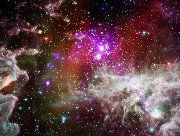 nebula active star